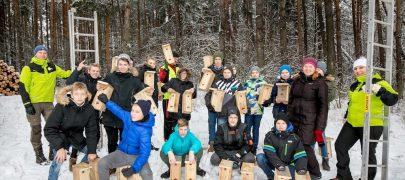 Erametsaliidu algatusel tehakse Eesti Vabariigi juubeli puhul metsalindudele kingitus
