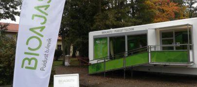 """Rändnäitus """"Bioajastu – puidust tulevik"""" kandideerib aasta keskkonnateoks"""